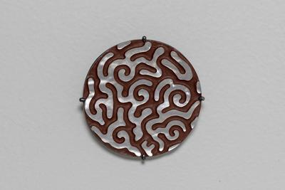 Brain Brooch