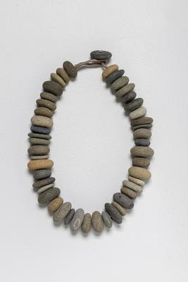 Beach Pebble Collar