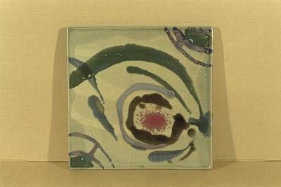 Wall Platter; 1993.4.1/2-3