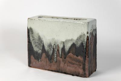 Untitled (Rectangular Slab Pot)