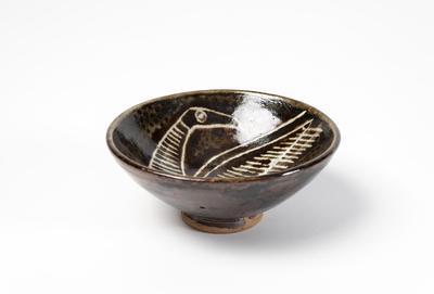 Bowl (Theo Schoon decoration)