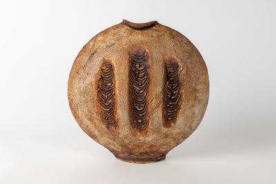 Discoid Vase