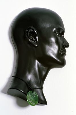 Bust of 'Buckwheat' Edward Cowley